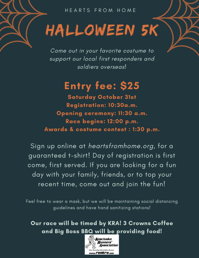 Register Today for a Halloween 5k for Heroes