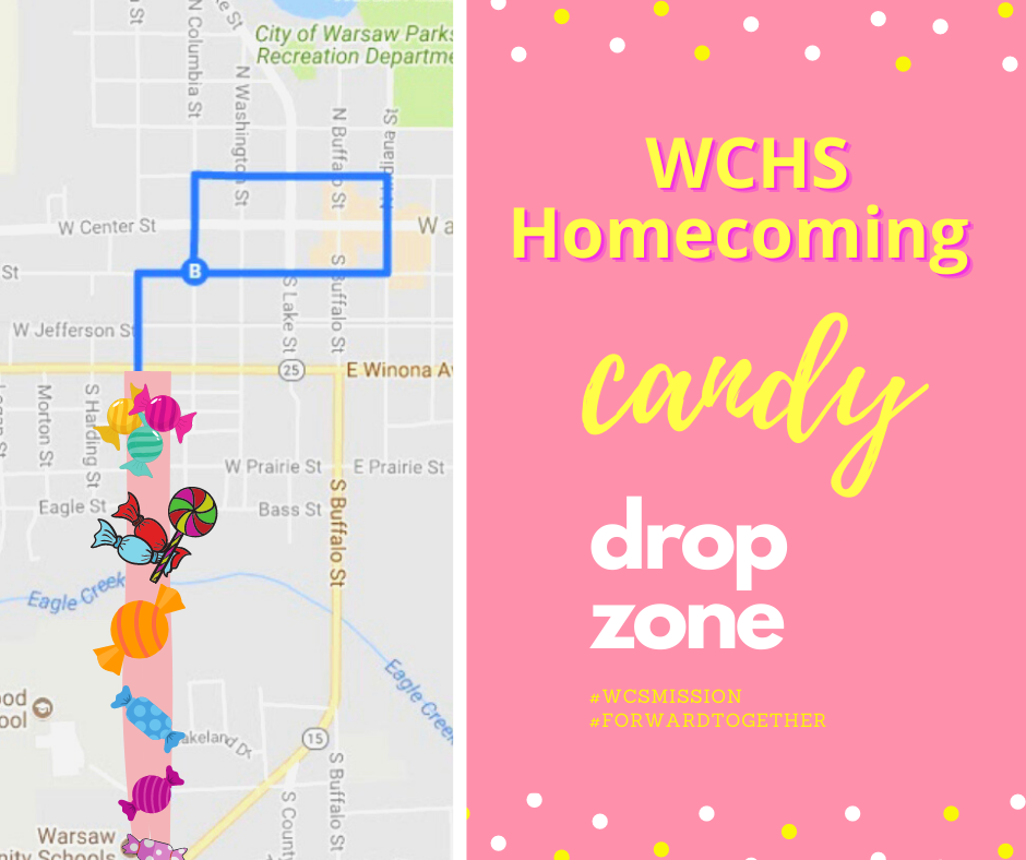 Check out the WCHS Candy Drop Zone