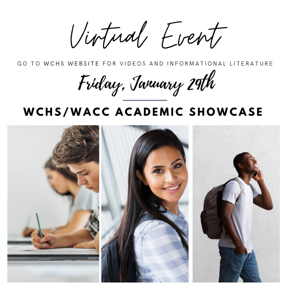 Save the Date: WCHS/WACC Academic Showcase Goes Virtual