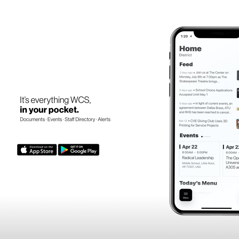 Get the New & Free WCS APP