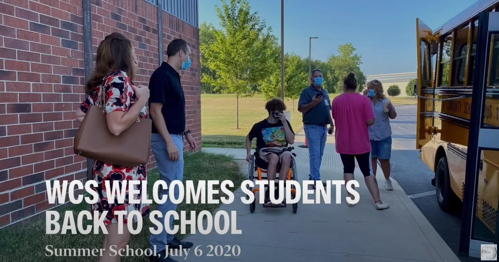 WCS Welcomes Students Back to School