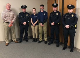 WCHS Students Join the Police Cadet Program