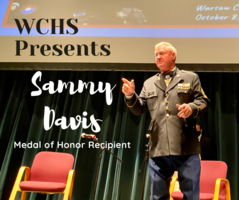 Sammy Davis Presents at WCHS