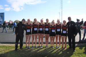 Girls XC Team Runs at State