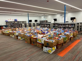 Edgewood Food Drive 2020 Exceeds Expectations!