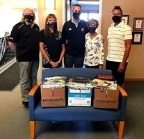 Pincushion Pals Donate Masks to WCS