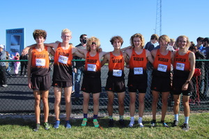 WCHS Boys XC 16th at State!