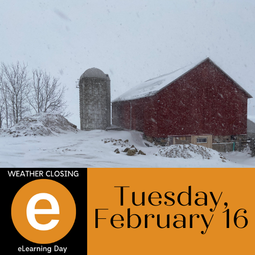 Weather Closing: Tuesday, Feb 16