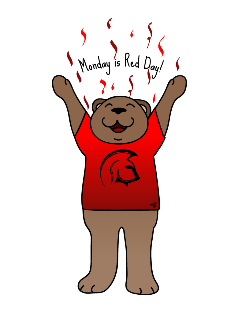Red Day bear