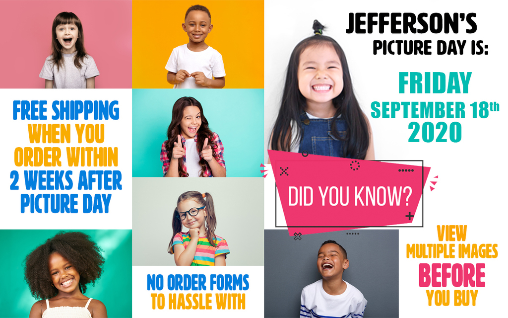 September 18 Picture Day